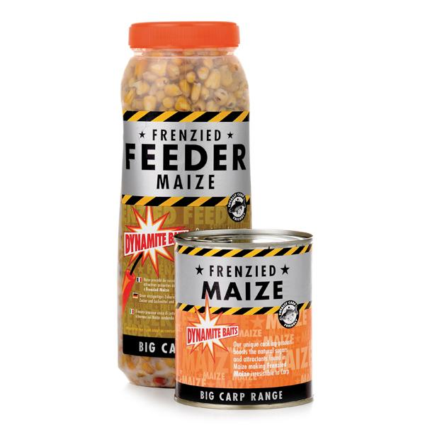 Natural baits Dynamite Baits Frenzied Maize Tin for 3€