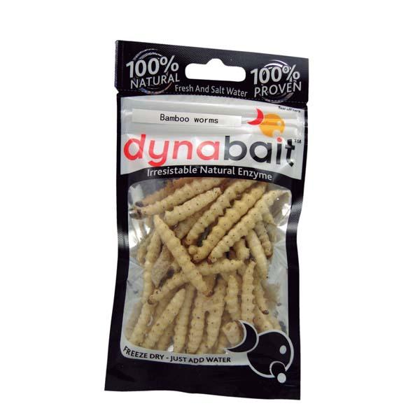 Natural baits Dynabait Bambu Worms for 2€