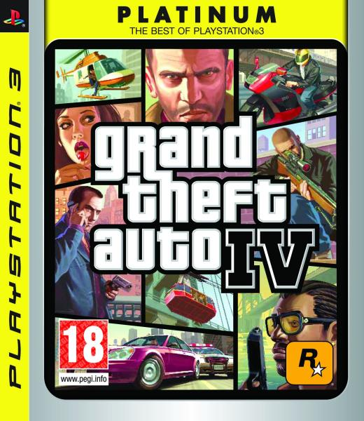 Grand Theft Auto IV (4) Platinum for 25€