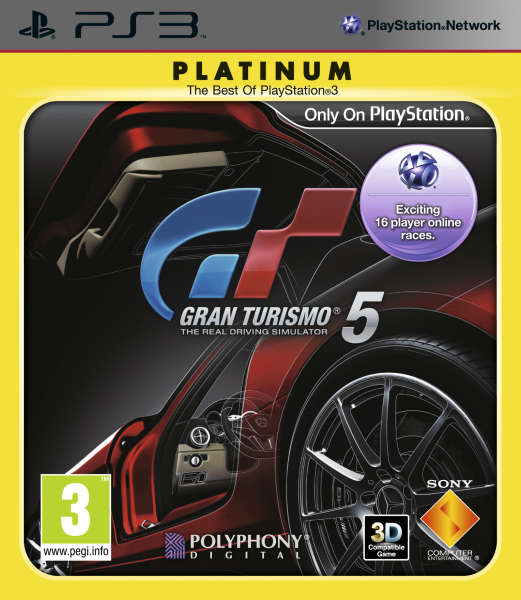 Gran Turismo 5 (Platinum) for 25€
