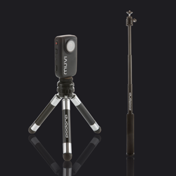 Veho Duopod - Monopod and Tripod for Muvi and Muvi HD Range (VCC-A019-MP) for 19€