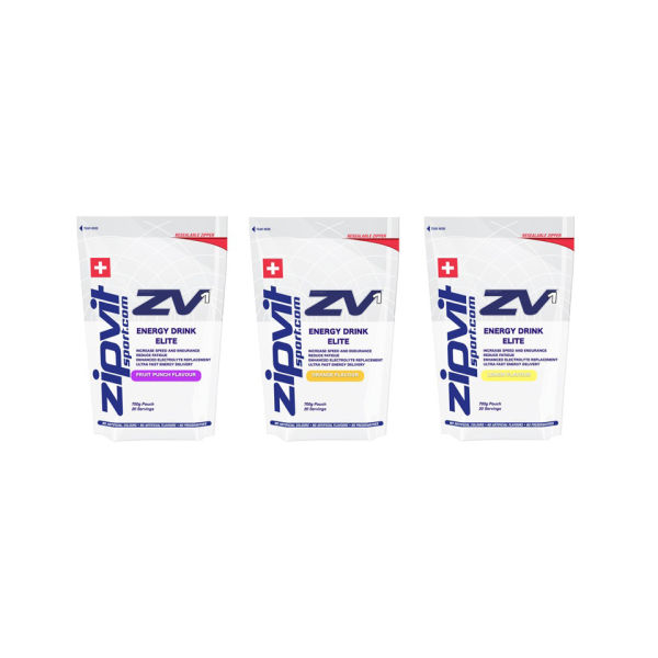 Zipvit ZV1 Energy Drink Elite - 700g Pouch Fruit Punch Fruit Punch Pouch 700 for 12€
