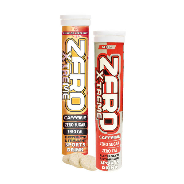 High5 Sports Zero X'treme Caffeine Hydration Tablets - Tube of 20 Pink Grapefruit Pink Grapefruit Tube 20 for 6€