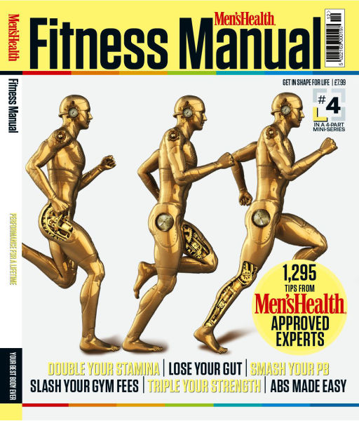 Men's Health Fitness Manual for 10€