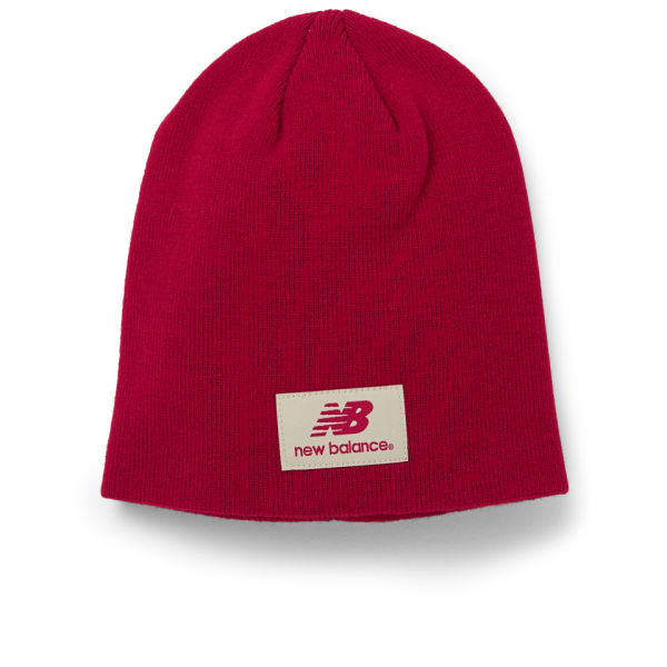New Balance Unisex Slouch Beanie - Acrylic Red for 18€