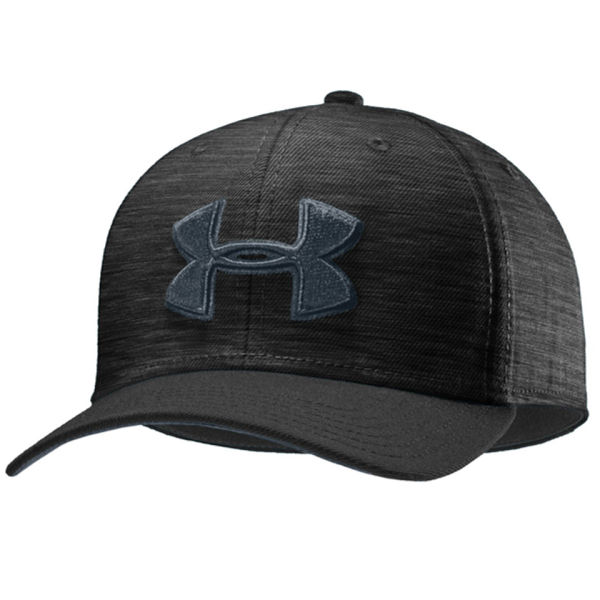 Under Armour Men's Low Crown Flat Brim STR Cap - Black/Grey for 19€