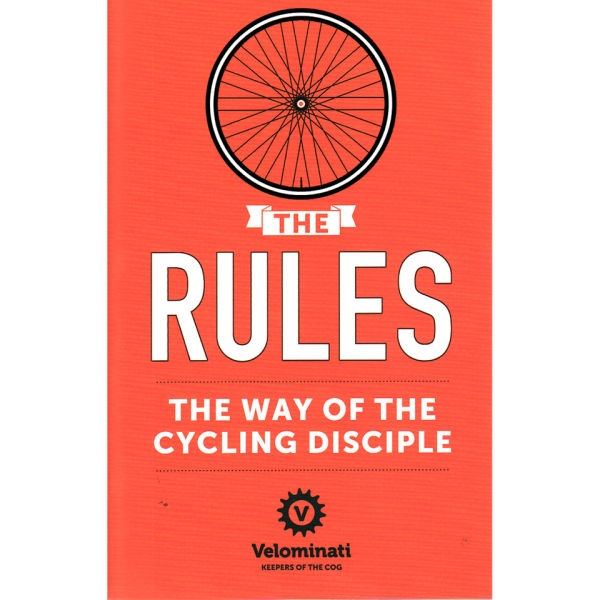 Velominati - The Rules - The Way of the Cycling Disciple - Book for 10€