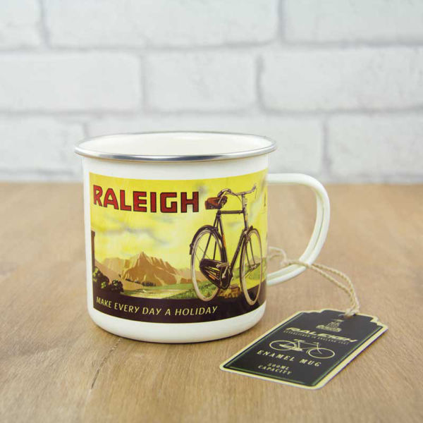 Raleigh Enamel Mug for 10€