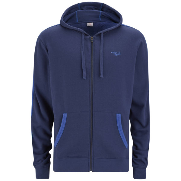 Gola Men's Milford Full Zip Hoody - Navy/Cobalt Blue - XXL XXLBlue for 25€