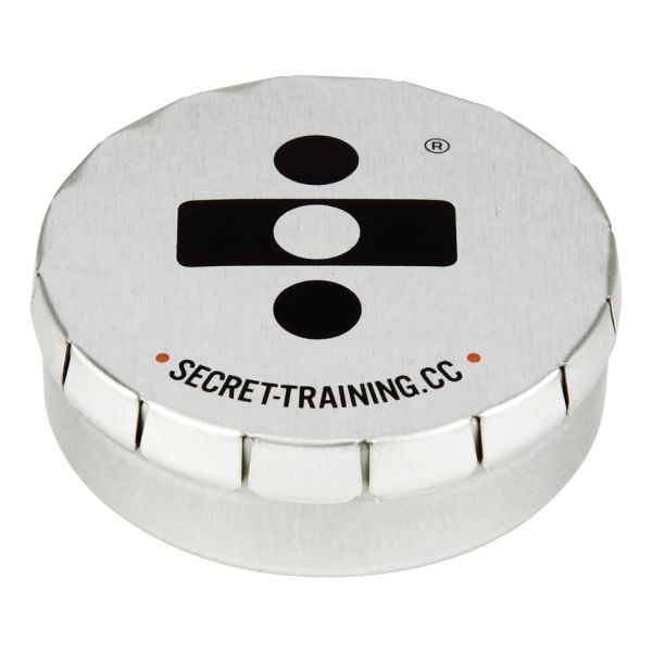 Secret Training Tin & Pins for 3€