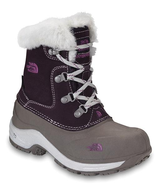 The North Face Mcmurdo Boot Baroque Purple / Monnlight Ivory Girls for 41€