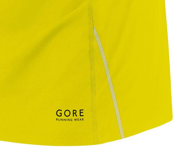 Skirts Gore Running Skirt Essential Sulphur Yellow Woman for 41€