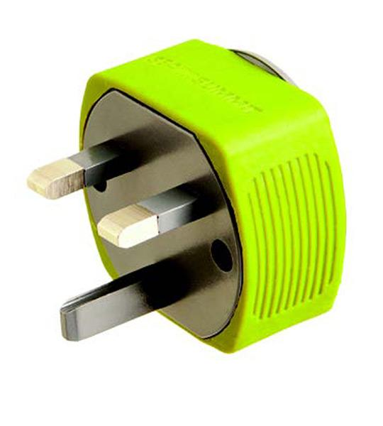 Energy Sea To Summit Travel Adaptor Uk Single Lime (pack 2) for 7€
