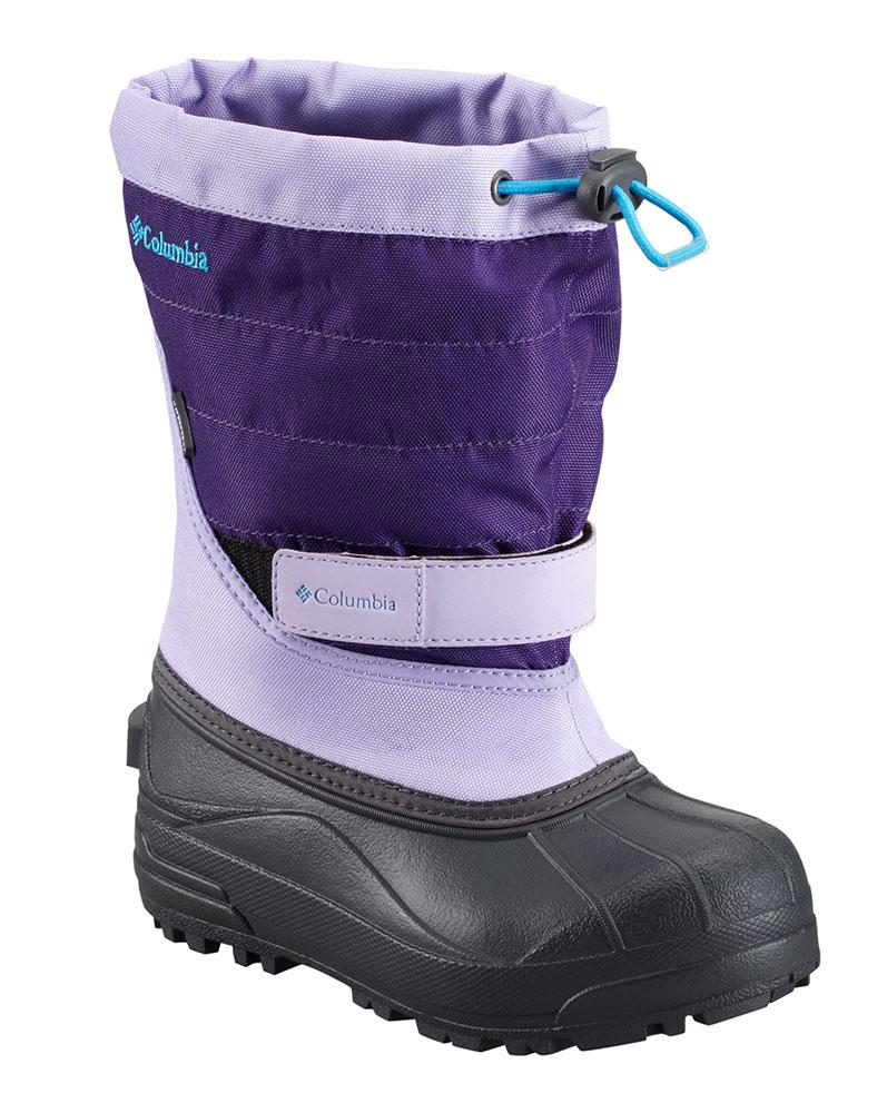 Columbia Powderbug Plus Ii Whitened Violet / Dark Compass Childrens for 36€
