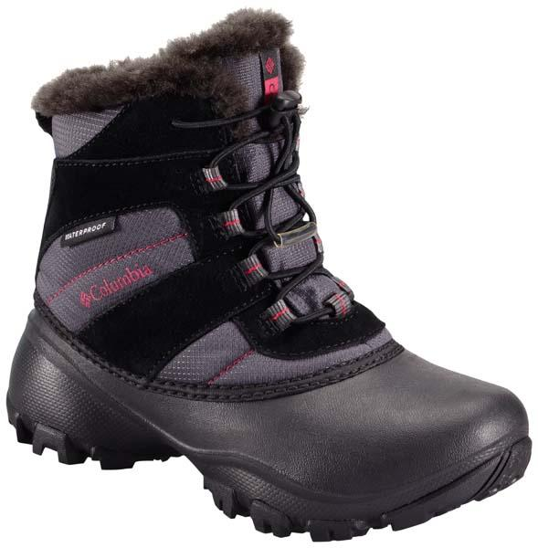 Après-ski Columbia Rope Tow Iii Waterproof Black / Bright Rose Youth for 43€