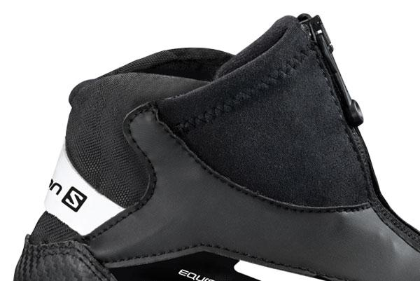 Cross country classic boots Salomon Equipe Black Junior 13/14 for 50€
