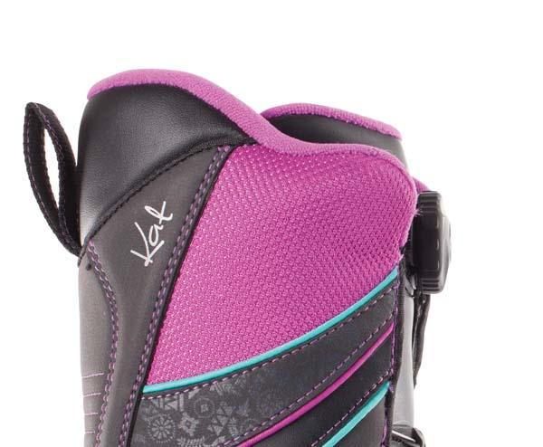 Boots woman K2 Snowboards Kat Black Girls for 100€