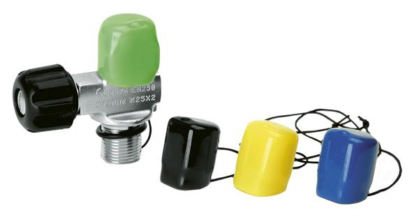 Accessories Best Divers Cap For Valve Assorted Colours for 3€