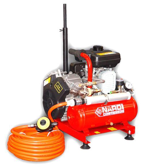 Compressors Nardi Narghile Extreme Petrol for 1199€