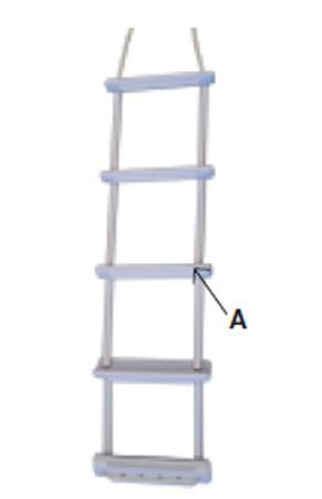 Ladders Waveinn Folding Ladder for 31€
